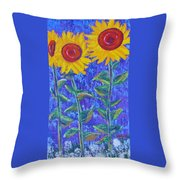 The Tall And Short Of It Throw Pillow