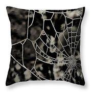 The Tangled Web Throw Pillow