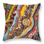 The Tattoo Throw Pillow