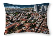 the Tel Aviv charm Throw Pillow