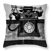 The Telephone Throw Pillow