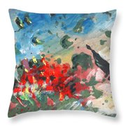 The Tempest Throw Pillow