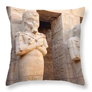 The Temple Of A Million Years Throw Pillow