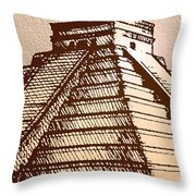 The Temple Of Kukulcan Chichen Itza   Throw Pillow