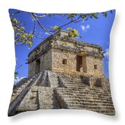 The Temple Of The Seven Dolls Throw Pillow