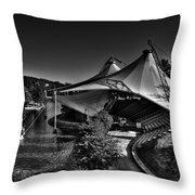 The Tennessee Amphitheater Throw Pillow