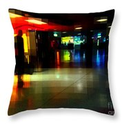 The Terminal - Train Stations Of New York Throw Pillow