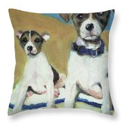 The Terriers Throw Pillow