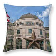 The Texas State History Museum Throw Pillow