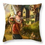 The Thief Throw Pillow