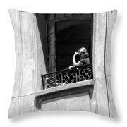 The Thinker - Sao Paulo Throw Pillow