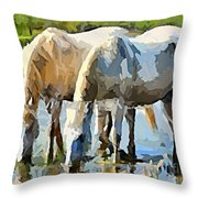 The Thirst Throw Pillow