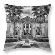 The Thomas Center Gardens Throw Pillow