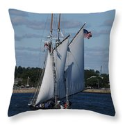 The Thomas E. Lannon Throw Pillow