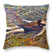 The Thousand Natural Shocks-sold Throw Pillow