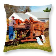 The Thrasher In Action Throw Pillow