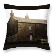 The Three Chimneys Throw Pillow