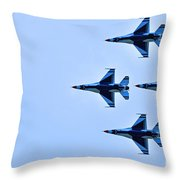 The Thunderbirds Are Here  Throw Pillow