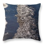 The Tide Throw Pillow