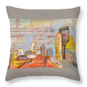The Time Before The Last Time Throw Pillow
