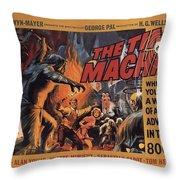 The Time Machine  Throw Pillow