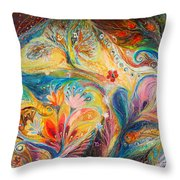 The Timeless Characters Throw Pillow