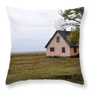 The Times In The Past Throw Pillow
