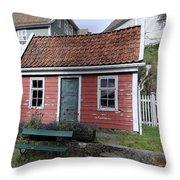 The Tiny House Throw Pillow