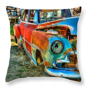 The Tired Chevy 2 Throw Pillow