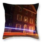 The Todd House Philadelphia Throw Pillow