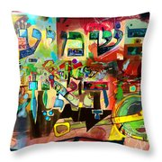 the Torah is aquired with attentive listening 11 Throw Pillow
