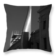 The Torch Burned Here Throw Pillow