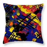 The Torn Fabric Of Life Throw Pillow