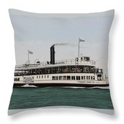 The Toronto Trillium  Throw Pillow