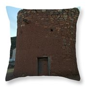 The Torreon In Lincoln City New Mexico Throw Pillow by Jeff Swan