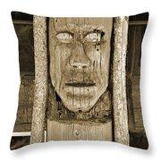 The Totem Throw Pillow