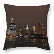 The Tower And The Bridge Throw Pillow