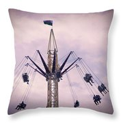 The Tower Swing Ride 1 Throw Pillow