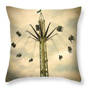 The Tower Swing Ride 2 Throw Pillow