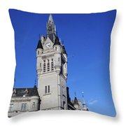 The Town House Throw Pillow
