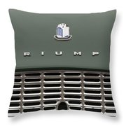The Tr3 Look Throw Pillow