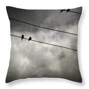 The Trace 11.25 Throw Pillow