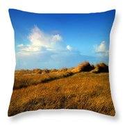 The Trail Through The Grass Throw Pillow