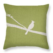 The Tree Branch Throw Pillow
