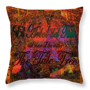The Tree Of Tule   Throw Pillow