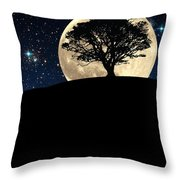 The Tree The Moon The Stars Throw Pillow