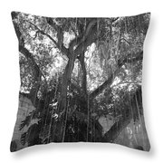 The Tree Vines Throw Pillow