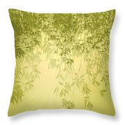 The Trees First Light Throw Pillow