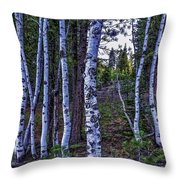 The Trees Have Eyes-d Throw Pillow