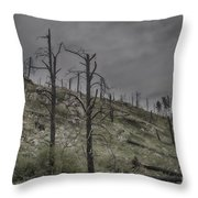 The Trees That Were Throw Pillow